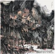 简评郭峰的山水画