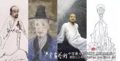 画坛四大名僧