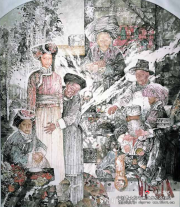 马援的人物画及影响创作的因素