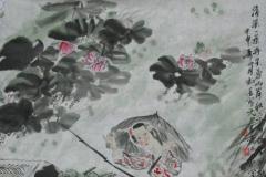 画家冯远写意国画仕女图(出售中)