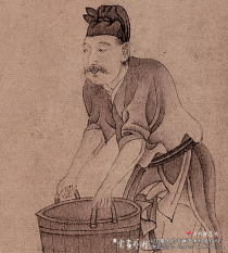 赵孟頫《饮马图》赏析