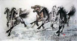 徐悲鸿、韩干,谁画的马儿好?