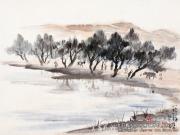 埃及写生·河畔风景