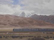 青藏铁路--白展望