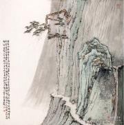 张扬明山水画作品欣赏