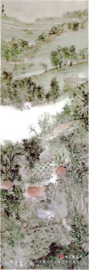 老毕和他的山水画