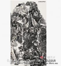 赏读女画家王云的水墨山水画
