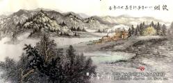 新疆大山水,山水画家的新视野