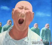 """方力钧开创""""玩世现实主义"""""""