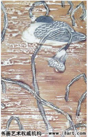 工笔花鸟画的特技65
