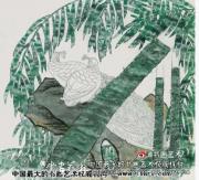 工笔花鸟画的特技70(完)