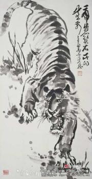 记中国虎画大师--卓然
