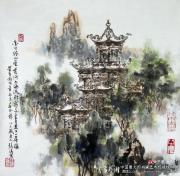 创新中国画:写意楼阁山水第一人何镜涵先生