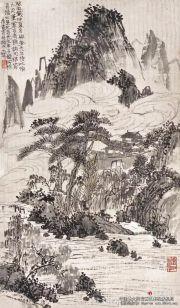潘天寿——听天阁画谈摘录