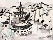 吴冠中:技与艺