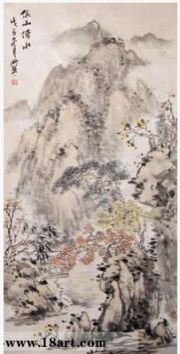 李淑琴与她的山水画