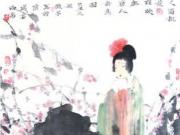 赏析桃子的人物画
