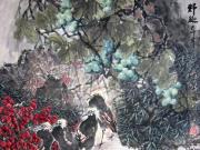 刘乃伦与他的花鸟画