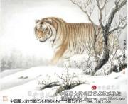 欣赏刘荣生动物画