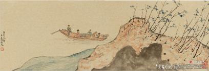 凌中翔山水画作品