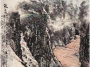 龙羊峡--关山月