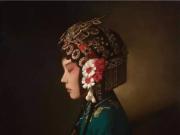 油画中的中国姑娘