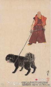 高原獒犬--叶浅予