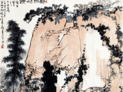 梅雨初晴--潘天寿