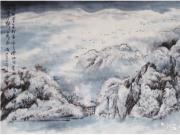 冰雪画画家 高成山