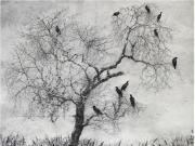 惠剑的花鸟画作品