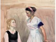 两个女学生--伍必端
