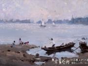 渤海湾之晨--张英伟