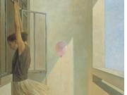 阳台上的气球--张正刚