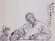 他是浙派人物画的领军者