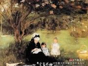 印象派女画家的母性情怀