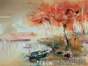 品读谢西岑的意象油画