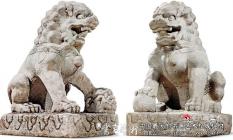 庭园石雕中的文人空间