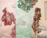 美女画家笔下的太湖石