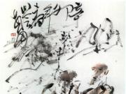 当代大写意人物画家李世南