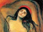 品蒙克的《圣母玛利亚》