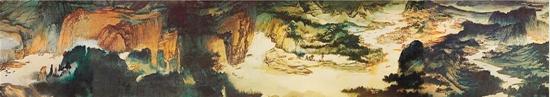 张大千《长江万里图》