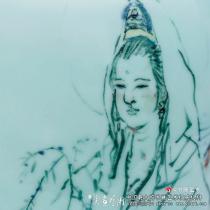 评吴山明青瓷绘画墨彩风流