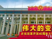 庆祝改革开放40周年大型展览
