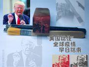 张卫村篆刻作品-特朗普之美国挺住