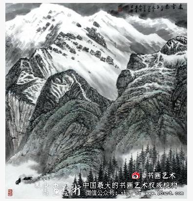 艺术赏析:青海省画家张建青印象