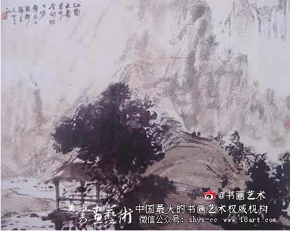 傅抱石山水画代表作_金陵画派和金陵八家_书画广角_书画艺术网