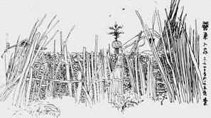 书画作品:共和国的最后一块祖母绿,汤旺河