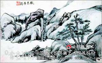 书画收藏:黄宾虹早期山水画