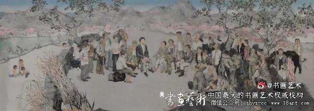 春风村的领路人一一王家元(中国画)刘庆和