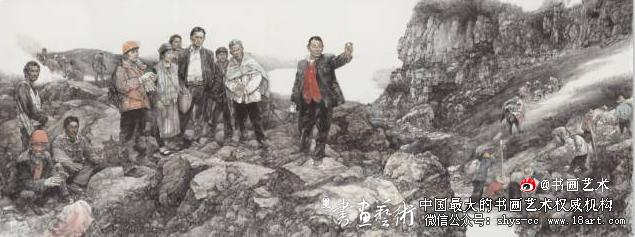 人民的好县长——高德荣(中国画)  王  珂